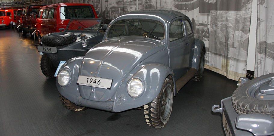 VW Kommandeurwagon