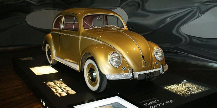 Gold Million Beetle