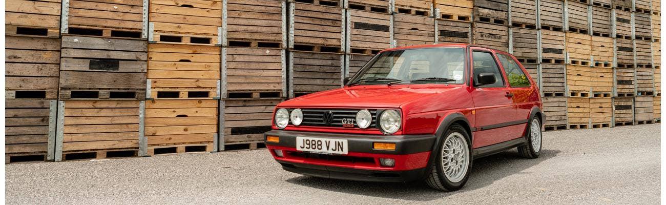 1983 Typ 19 VW Golf Mk2 5 door Mars Red
