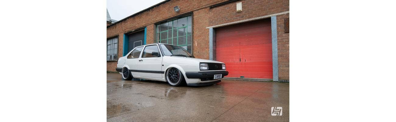 Russ Whitefield Mk2 Golf Mica Red