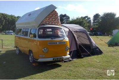 VW Bay Window with Moonraker roof conversion