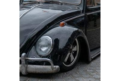 How to lower a VW Beetle