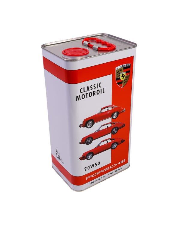 Porsche Classic Motoroil 20W-50 5 Litre