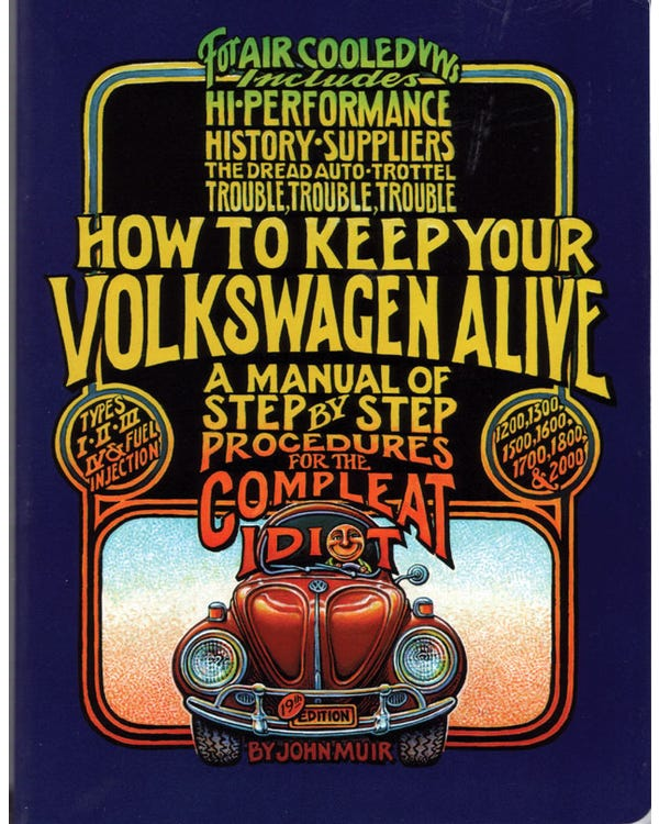 Libro ''How To Keep your VW Alive''