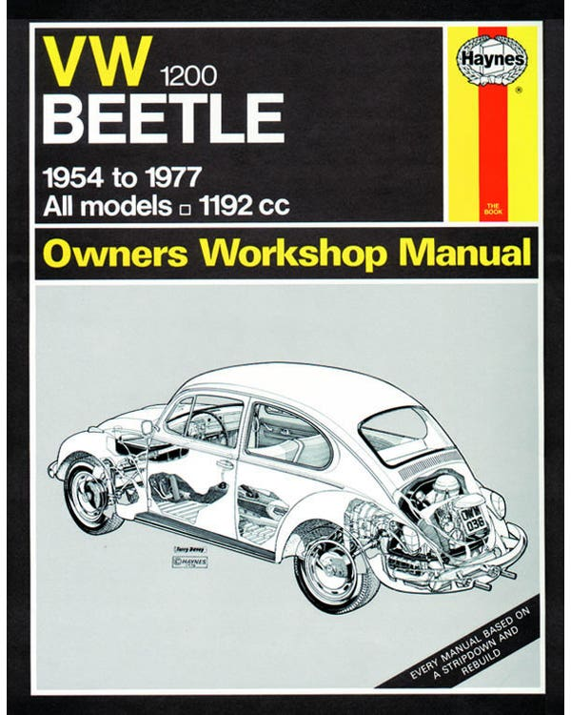 Haynes Workshop Manual 1200cc Only