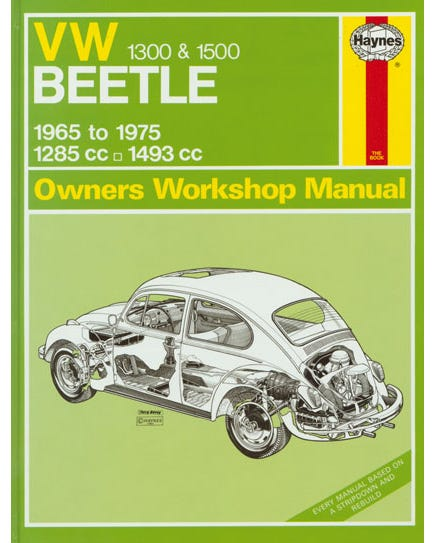 Haynes Workshop Manual 1300-1500cc