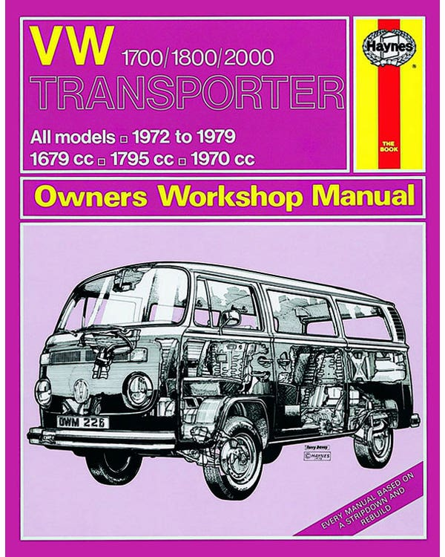 Haynes Workshop Manual 1700-2000cc