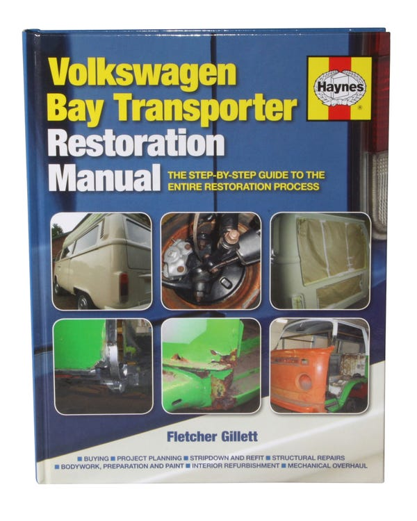 Manual de restauración VW T2. Idioma Inglés