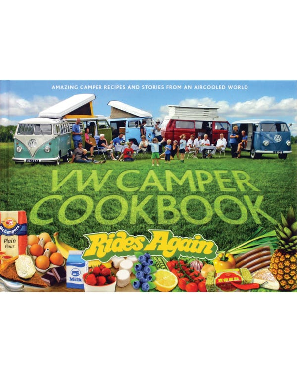 VW Camper Cookbook Rides Again