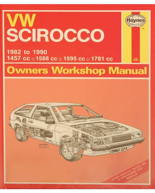 Haynes Manual Mk2 Scirrocco Petrol 1.5 1.6 1.8 '82-90