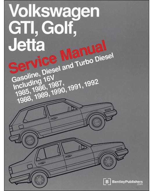 Manual de taller modelos GTI. Golf-Jetta