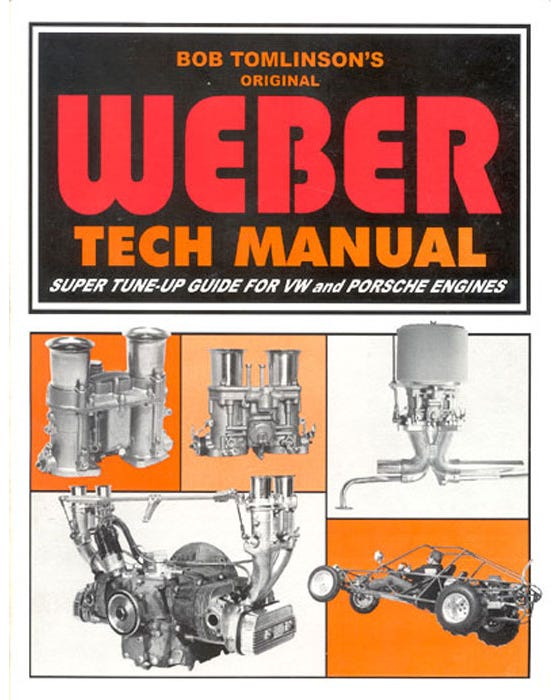 Weber Tech Manual By Bob Tomlinson