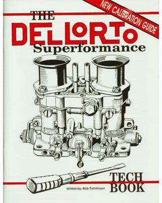 Dellorto tech book by Bob Tomlinson