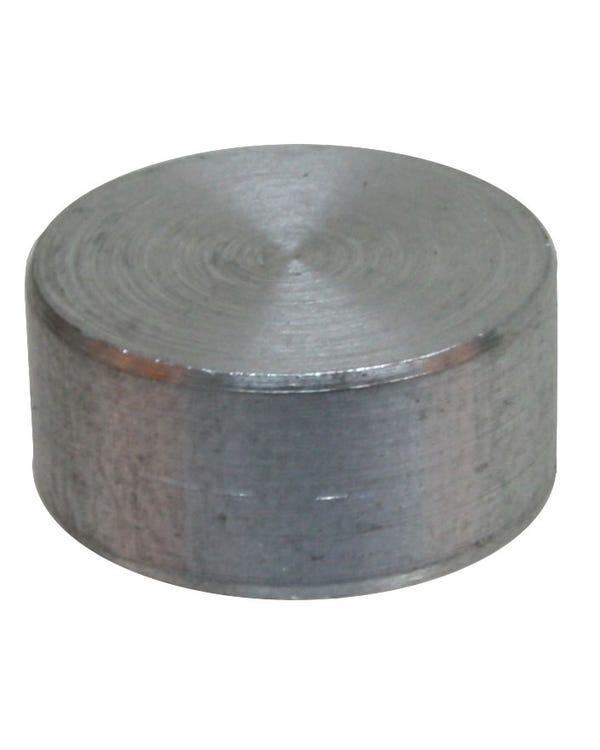 Tapón, Bloque, Aluminio, 13.2 x 6.5