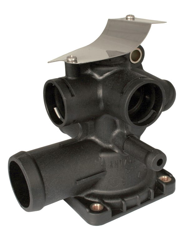 Thermostat Housing with Oil Cooler Return, 1.9 & 2.1 Waterboxer