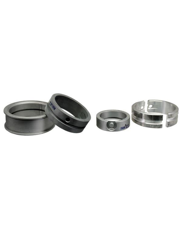 Main Bearing Set 1.9 Waterboxer, 0.25mm Undersize Crankshaft x Standard Case, 1 Piece Thrust