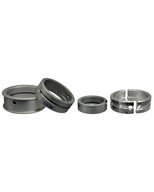 Crankshaft Main Bearing Set for 1.9 WBX 0.5mm x STD x STD 1 Piece Thrust