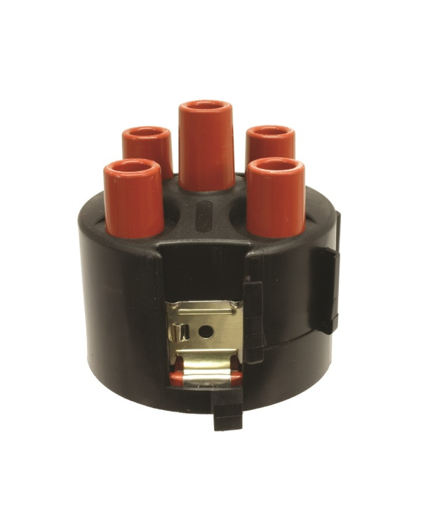 Distributor Cap Pin Type Fitting with Plastic Shroud