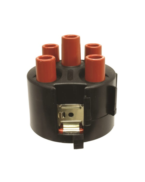 Distributor Cap for Pin Type Fitting with Plastic Shroud
