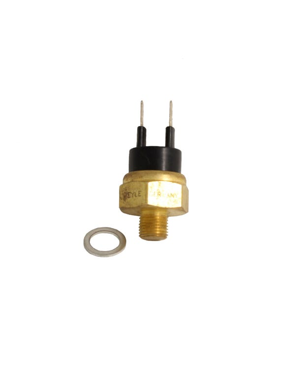 Coolant Temperature Sensor Including Seal, 2 Pin Black 25/17c