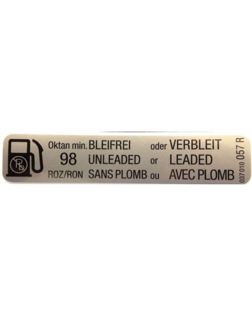 Sticker 98 Octane Fuel GTI 8V
