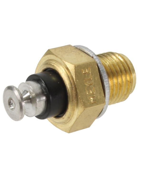 Coolant Temperature Gauge Sensor, Black 1 Pin 0-125C