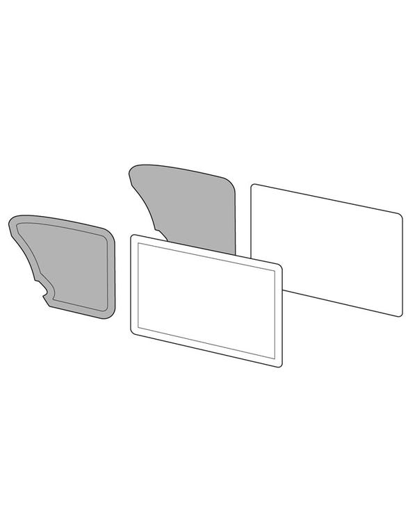 Rear Quarter Panels in Single Colour Vinyl