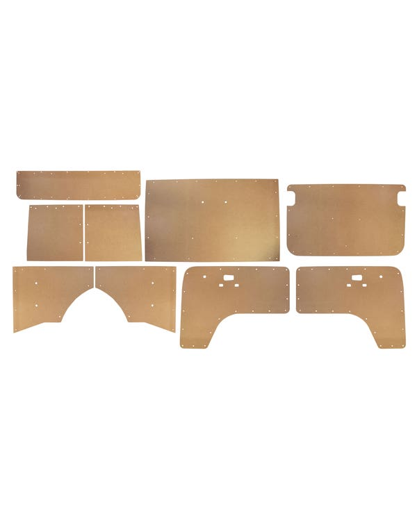 Türinnenverkleidungssatz aus bloßem Holz