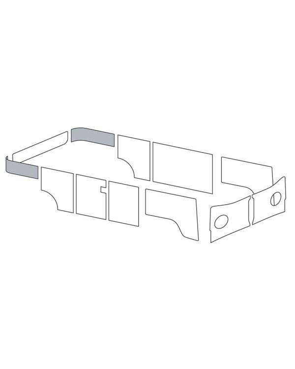 Paneles laterales para la zona de las maletas en vinilo de un solo color