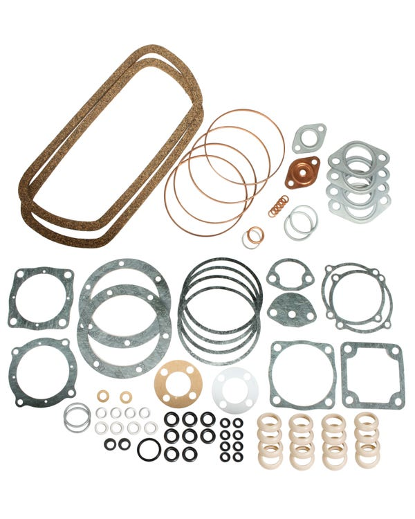 Gasket set, 1200cc, 8/60-8/69, German