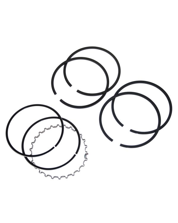 Piston ring set, 1200cc/77mm, 1/54-4/72 (including 30HP)