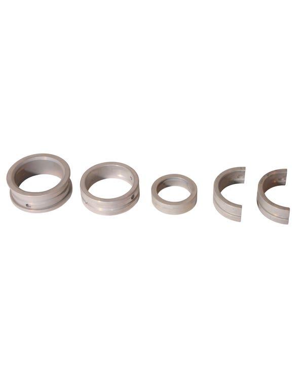 Main Bearing Set 12-1600cc 1mm Undersize Crank x 1.5mm Oversize Case x 2mm Thrust