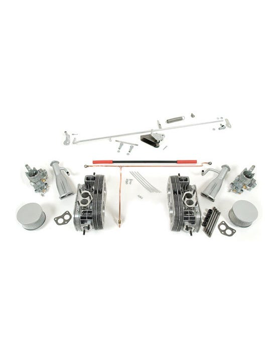 Twin Port Cylinder Head and Carburettor Kit for 30hp with Original Linkage