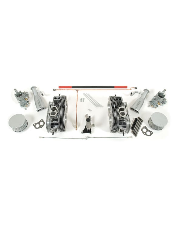 Twin Port Cylinder Head and Carburettor Kit for 30hp with CSP Linkage