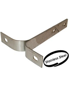 Front Blade Bumper Iron in Stainless Steel