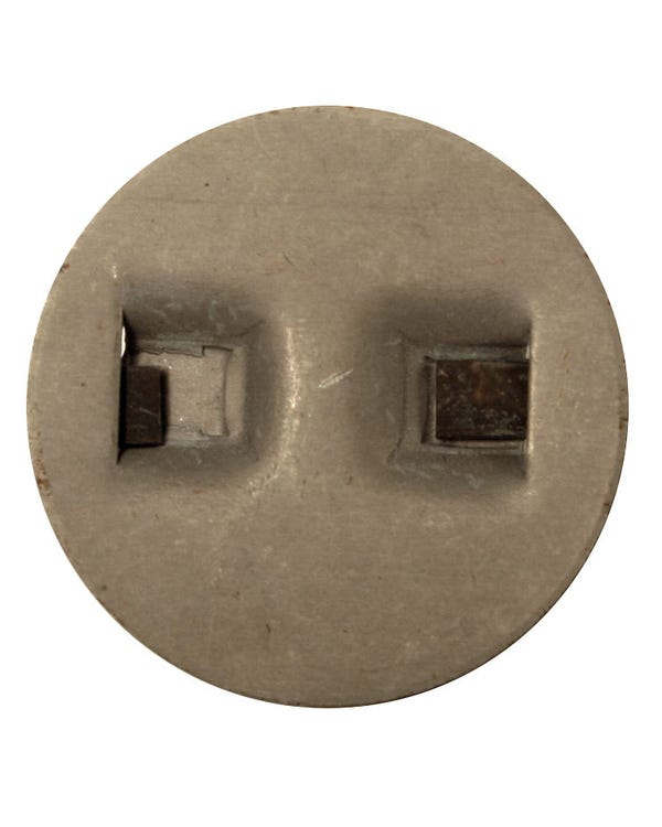 Rear Crossmember Plug, Stainless Steel, Supplied in Pairs
