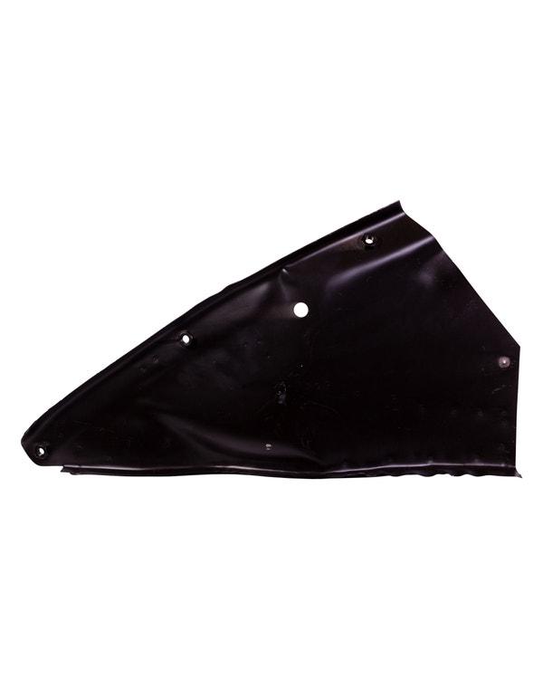 Rear Bumper Support including Inner Quarter Panel for the Left Side