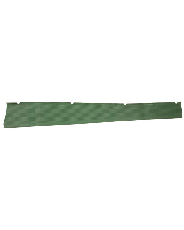 Trittbrettbelag, grün, links