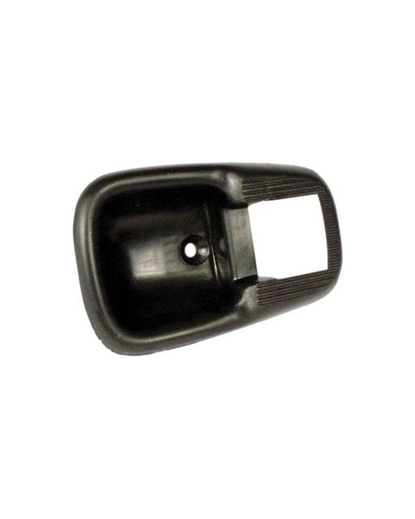 Interior Door Handle Trim Frame in Black