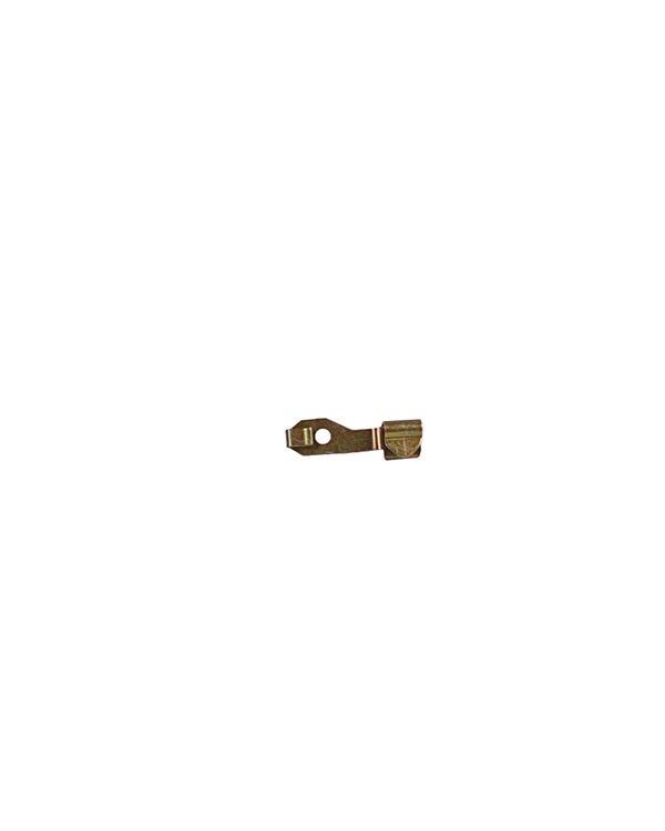 Pasador de resorte de varilla de cierre de puerta izquierda