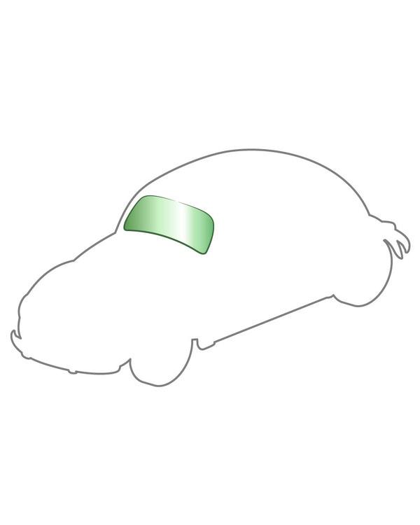 Windscreen Green