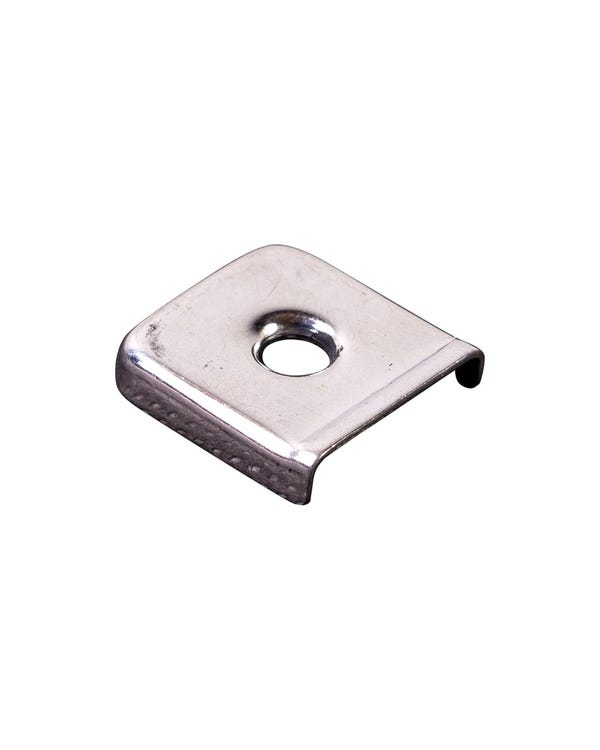 Plate for Rear Seat Retaining Strap Stainless Steel