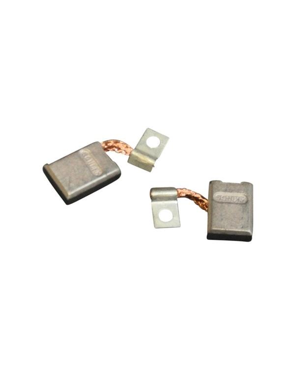 Kohlebürstensatz für Gleichstromlima 6 Volt