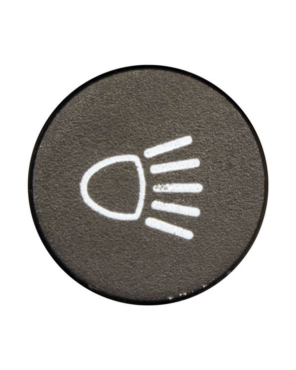 Headlight Switch Cap for Metal Dashboard