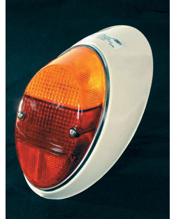 Complete Rear Light Left with Amber and Red Lens