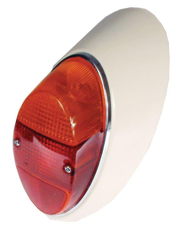 Complete Rear Light Right with Amber and Red Lens