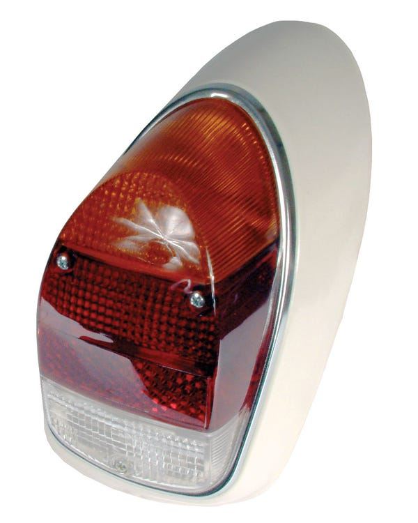 Complete Rear Light Right with Amber Clear and Red Lens