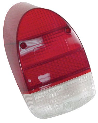 Rear Light Red and Clear Lens 1300cc