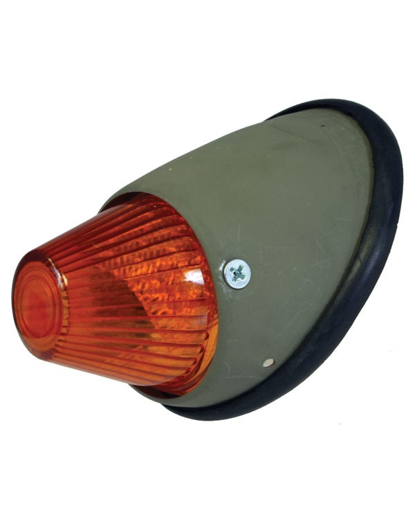 Bullet Front Indicator Assembly with Amber Lens Left