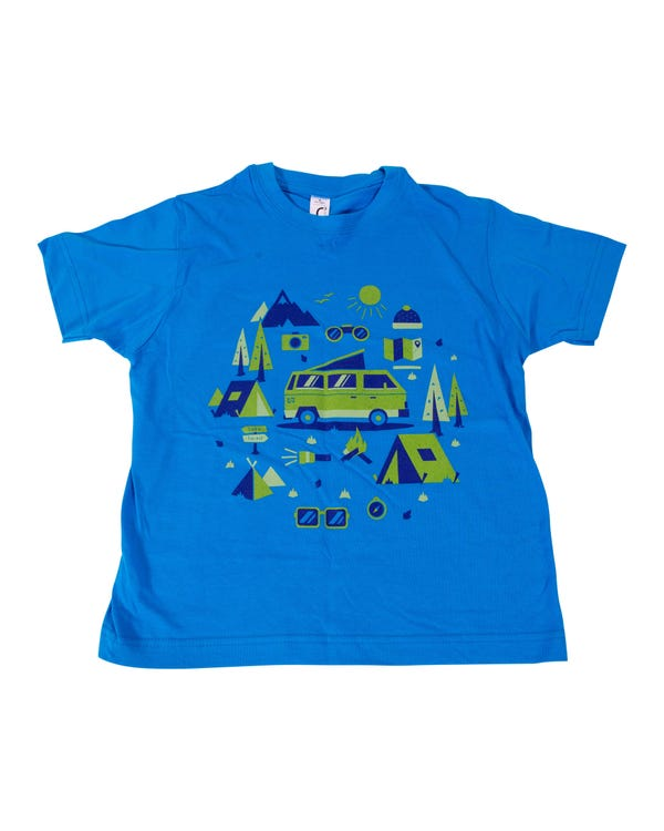 Camiseta niños Heritage Camping. 6 años